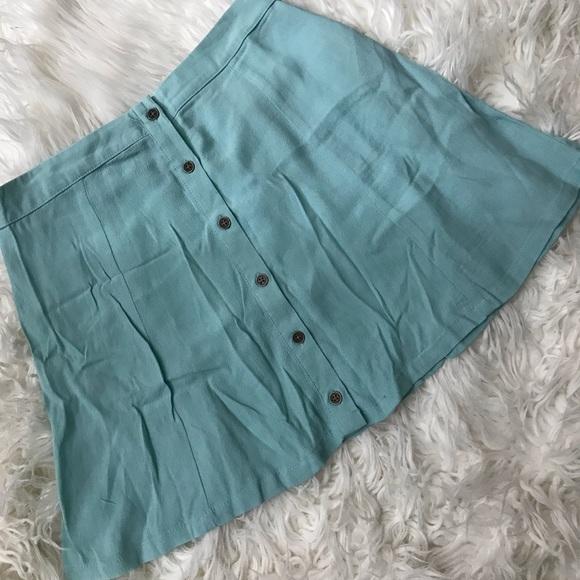 Forever 21 Dresses & Skirts - mint colored skirt